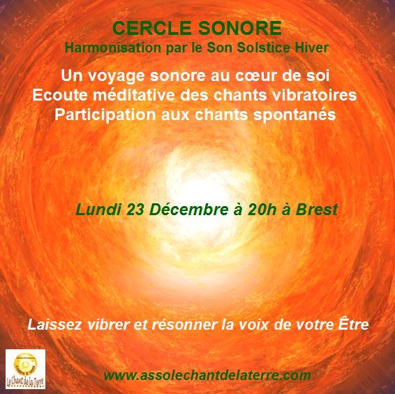 Cercle sonore solstice hiver 2019
